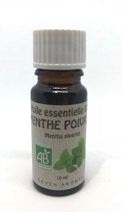 Huile essentielle de Menthe Poivrée 10ml - Certifié bio