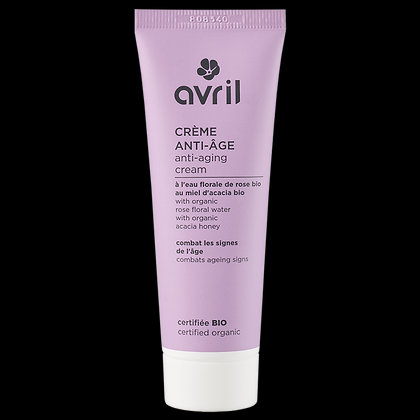 Crème Anti-Âge 50ml Certifiée bio - Avril