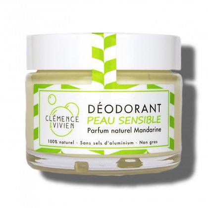Déodorant Peau Sensible Mandarine - Clémence et Vivien