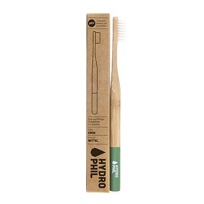 Brosse à Dents Durable Verte Medium Soft - Hydrophil