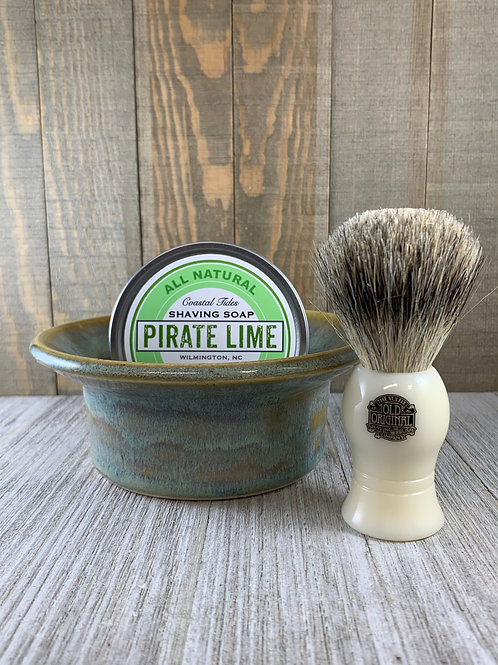 Gift Set with Badger Shave Brush