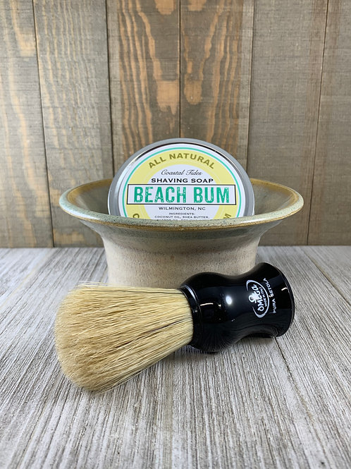 Gift Set with Boar Hair Shave Brush