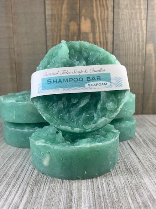 NEW! Vegan Shampoo Bar - SeaFoam