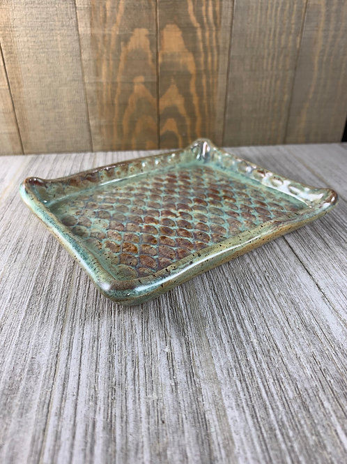 Handmade Soap Dish, Mermaid Scales