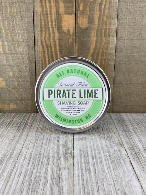 Pirate Lime Shave Puck