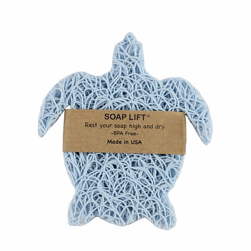 Sea Turtle Blue Soap Lift