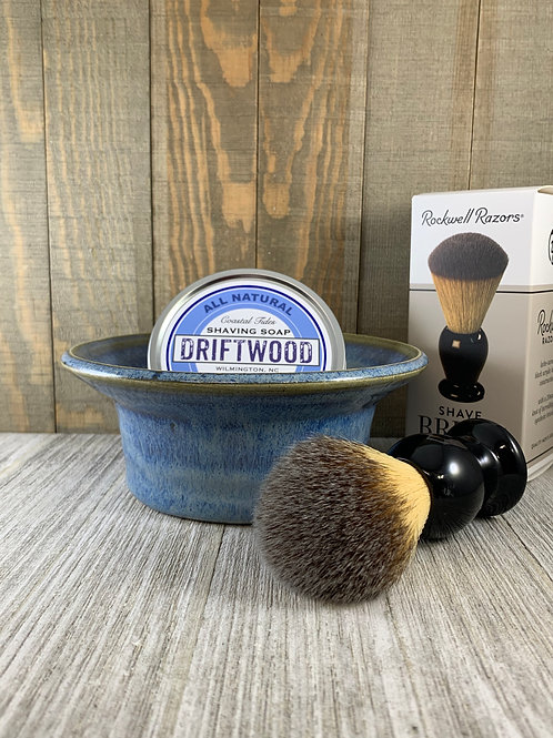 Gift Set with Synthetic Shave Brush