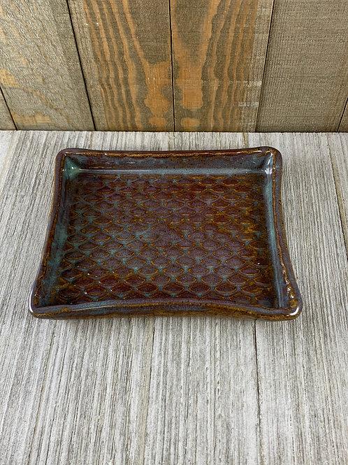 Handmade Soap Dish, Royal Mermaid Scales