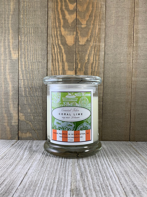 Coral Lime Soy Candle 12 oz