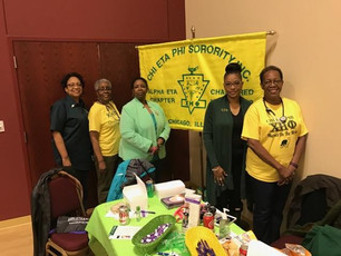 National Council of Negro Women Table