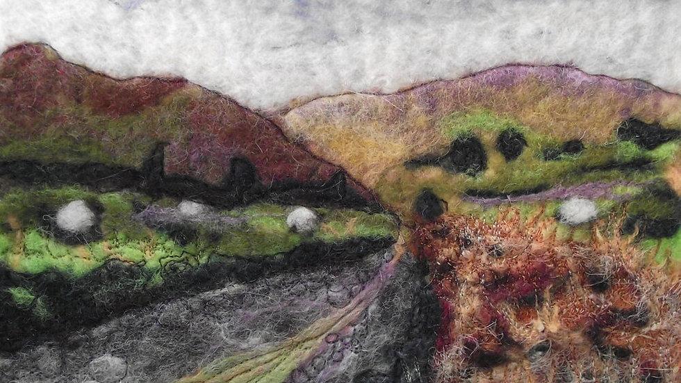 The Bog Road Original Print 12 x 8 Inch