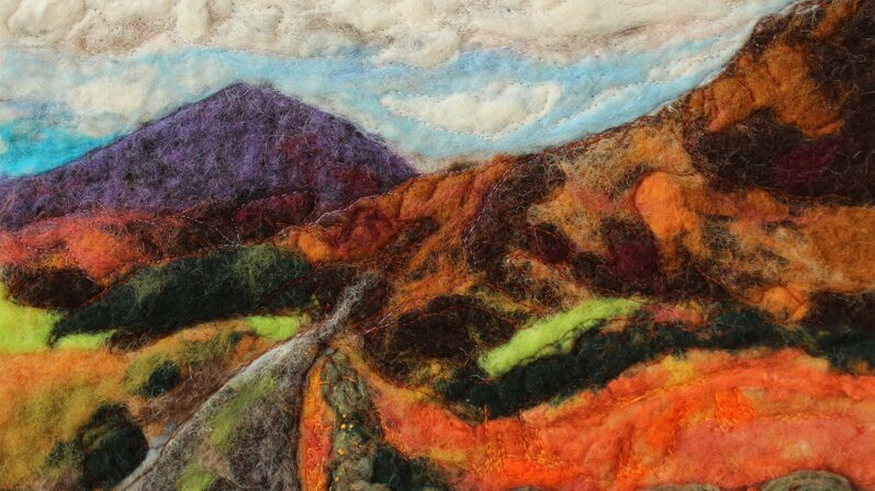 The Gorse Road Original Print 12 x 8 Inch