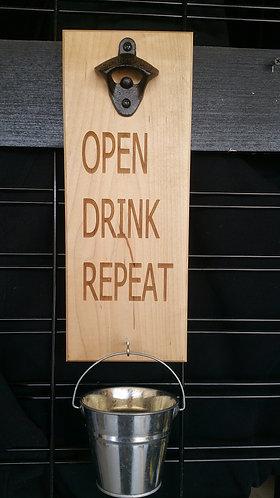 Wooden Beer Opener