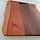 Thumbnail: Charcuterie  Cutting Board; Walnut & Mahogany; Laser engrave