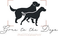 Gone To the Dogs Photography Logo - Fina