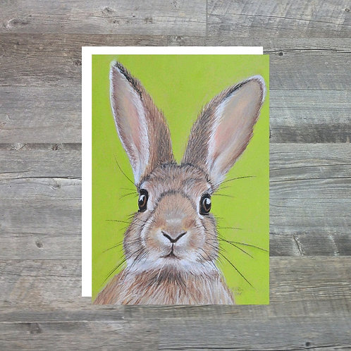 Rabbit - Greetings Card (A6)