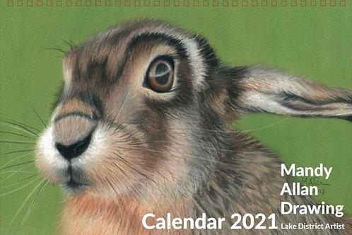 Mandy Allan Drawing Colour A3 Wall Calendar
