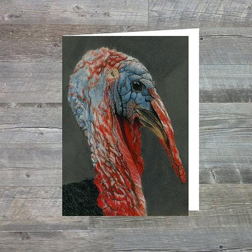 Majestic Turkey - Greetings Card (A6)