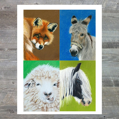 Multipack A6 Greetings Card