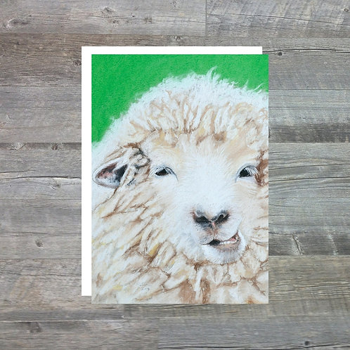 Sheep - Greetings Card (A6)