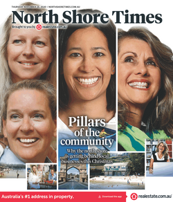 North Shore Times Nov 2020 front co
