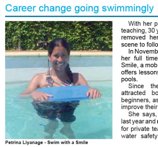 Freshwater Newsletter Feb 2014 (p4)
