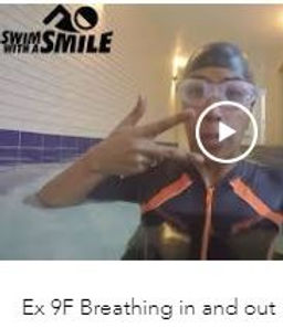 Breathing whilst swimming video