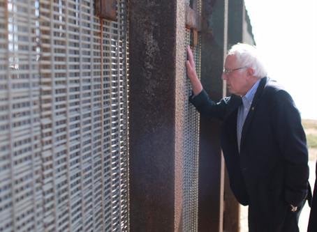 Bernie Sanders Visits Friendship Park