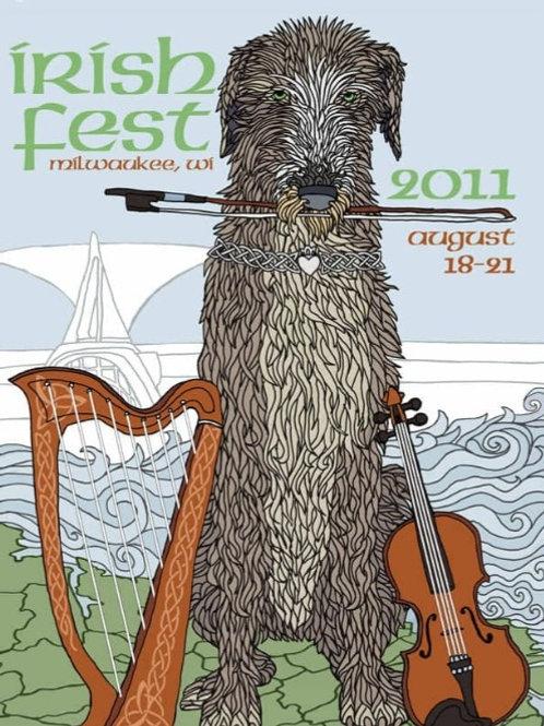Milwaukee, WI Irish Fest 2011 Poster