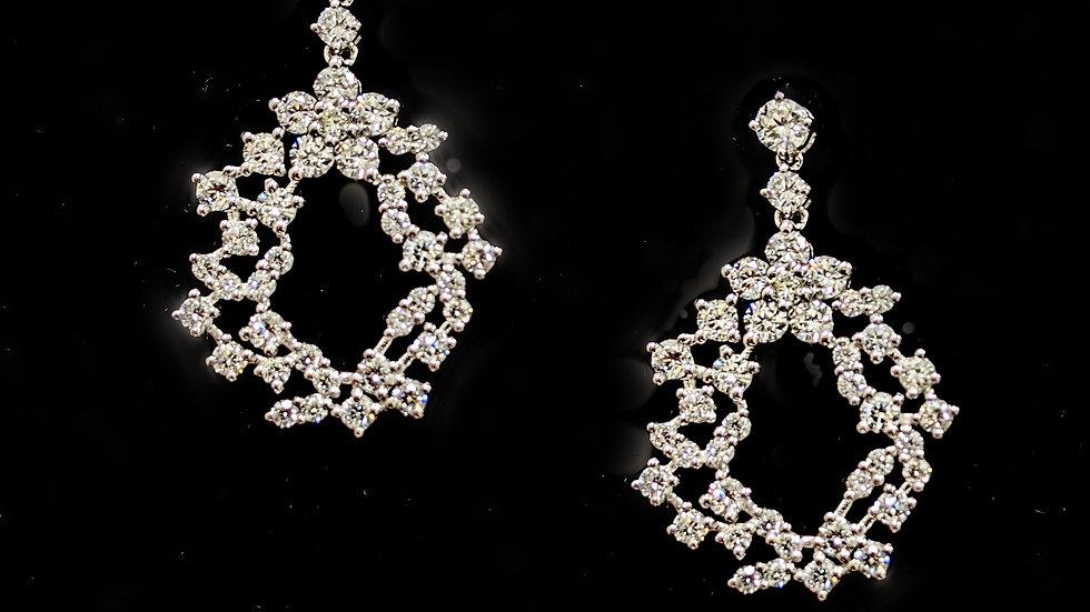 Diamond Earrings Irregular Shape collection