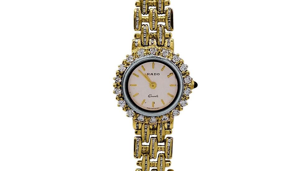 Rado stainless steel Diamond Watch