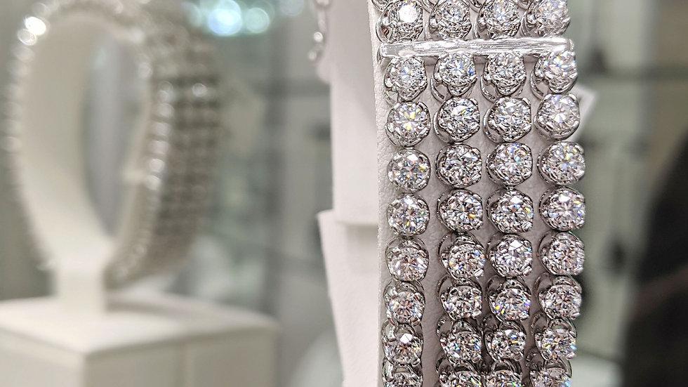 Four Row Tennis Diamond Bracelet