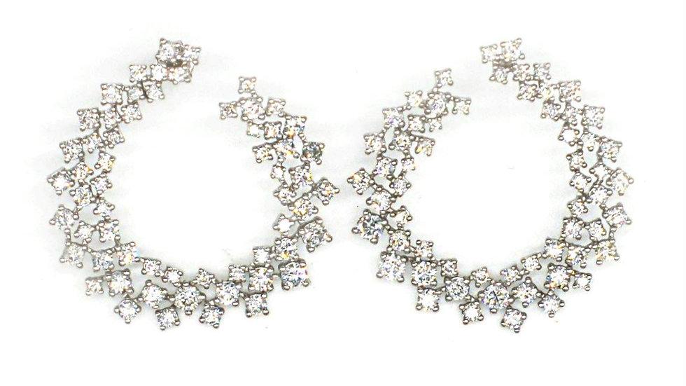 Sparkling  Sensation Diamond earring