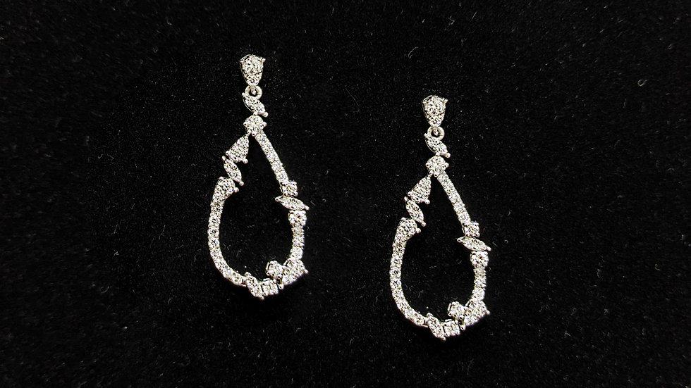 Diamond Drop Dangling Earring
