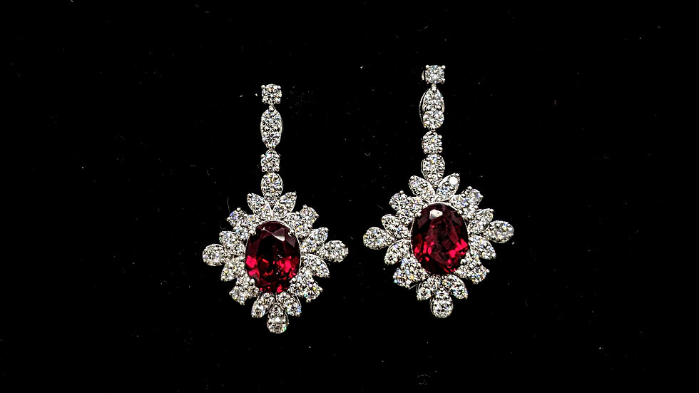 Classic Floral Drop Earring
