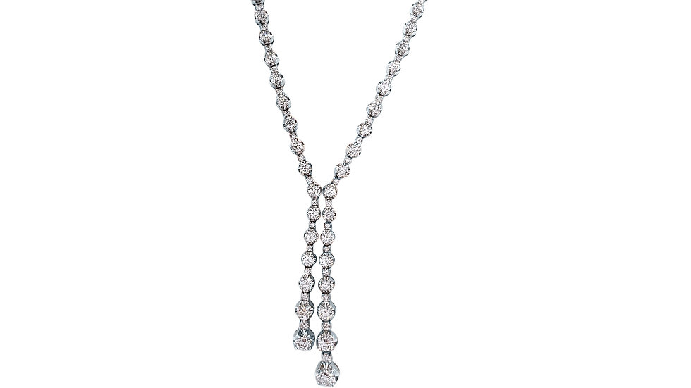 Graduating Diamond Necklace