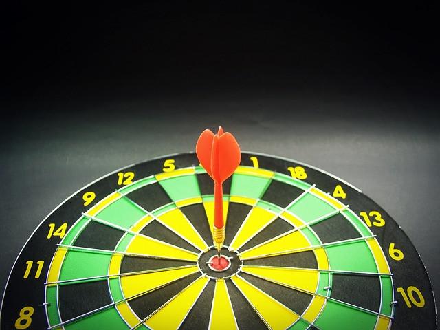 https://pixabay.com/en/target-goal-aiming-dartboard-aim-1551489/