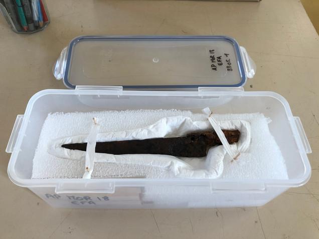 Conditionnement du couteau composite