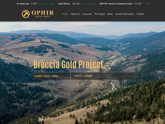 Ophir Gold Corp.