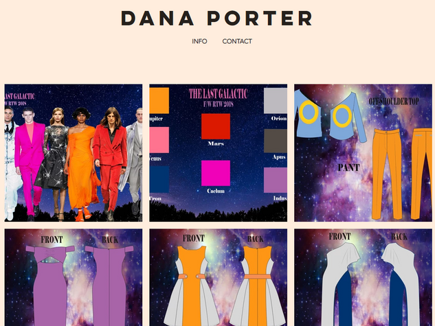 Dana Porter Fashion Desig Portfolio