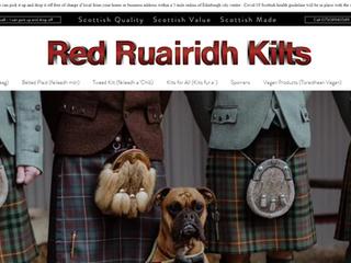 Red Ruairidh Kilts