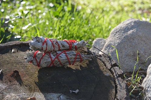Blessed White Sage Wand