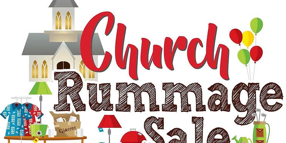Church Rummage and Bake Sale