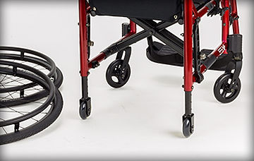 Small-Transport-Wheels-on-a-wheelchair-used for-very-narrow-doorways-corridors