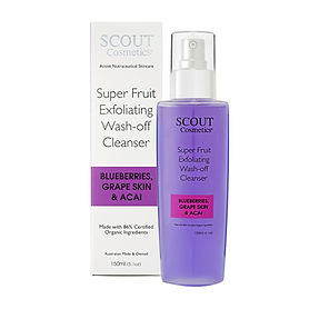 SCOUT Super Fruit Cleanser with Box 150ml.jpg