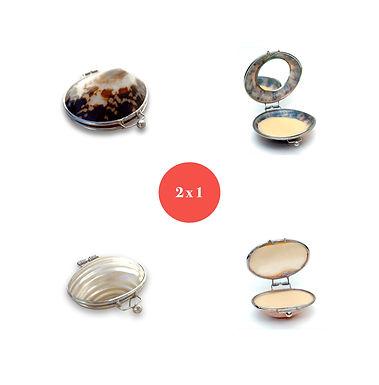 Kit Shells Mocha + White Pearl