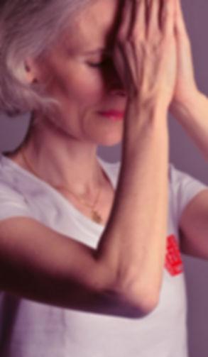 L'image représente Fleur Szabo se concentrant avant un Shitsu-Amma
