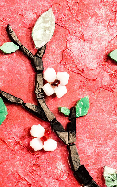 Branche cerisier