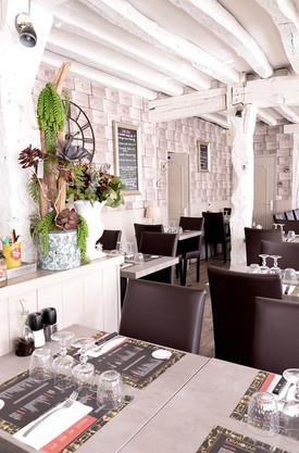 Vue de la salle du restaurant le Drakkar