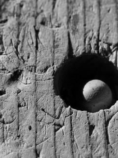Wood, wooden ball